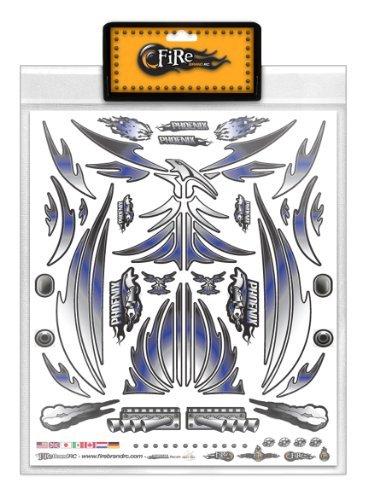FireBrand RC • Decal Sheet Blue Phoenix