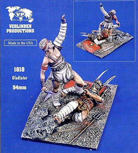Verlinden Productions 132 54mm Gladiator - 2 Resin Figures Kit 1818