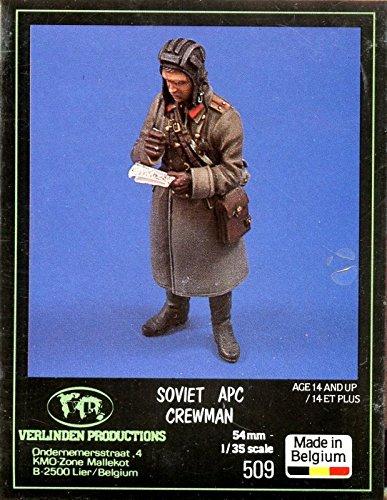 Verlinden Productions 135 54mm Soviet APC Crewman Resin Figure Kit 509