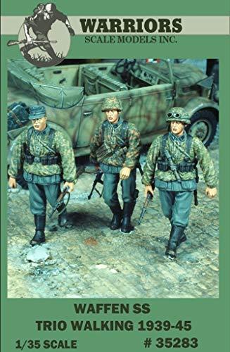 Warriors 135 Waffen SS Trio Walking 1939-56 3 Resin Figures Kit 35283