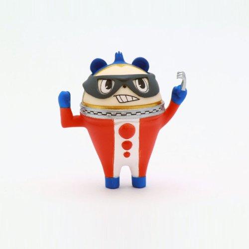 Persona 4 The ULTIMATE in MAYONAKA ARENA Korekupi Pin Jack Mascot Mask de Kuma Anime PVC Figure