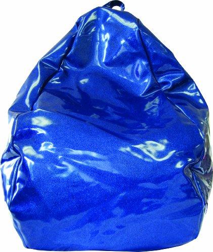 Gold Medal 30010510110 Medium Sparkle Vinyl Beanbag Tween Size Blue