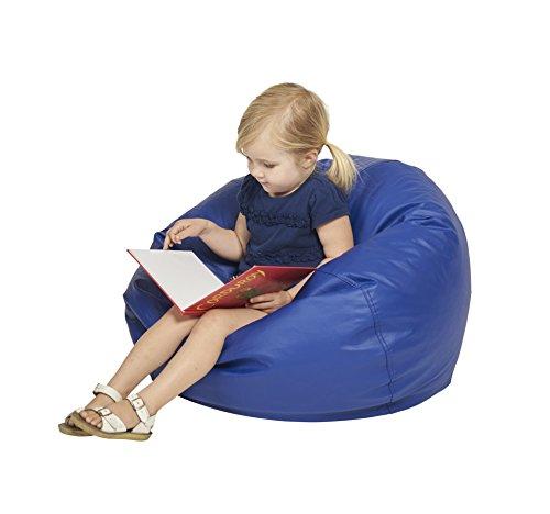 ECR4Kids Classic Bean Bag Chair Junior 26 Blue