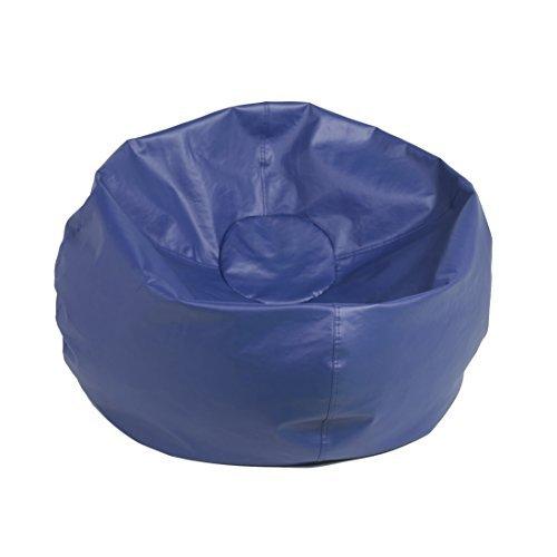 ECR4Kids Classic Bean Bag Chair Standard 35 Blue by ECR4Kids