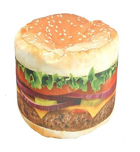 Wow Works Hamburger Junior Beanbag Chair 86813J