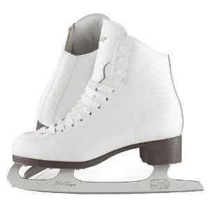 Glacier by Jackson GSU121 Misses Ice Skates White Recreational Level Figure Skating 13