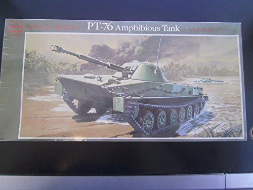 132 scale Russian PT-76 Amphibious Tank kit
