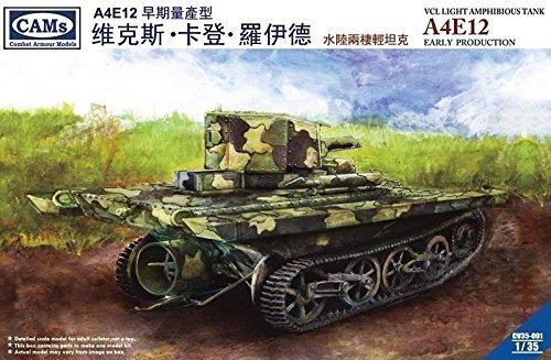 CAMs 135 VCL Light Amphibious Tank A4E12 CV35-001 by Riich  CAMS