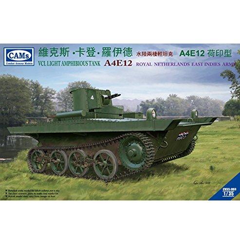 Riich Models 135 VCL Light Amphibious Tank A4E12 Knil Version Model Kit