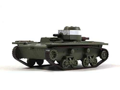 Russian Tanks T-38 Soviet Amphibious Scout Tank 1941 Year 172 Scale Green Diecast Model WWII