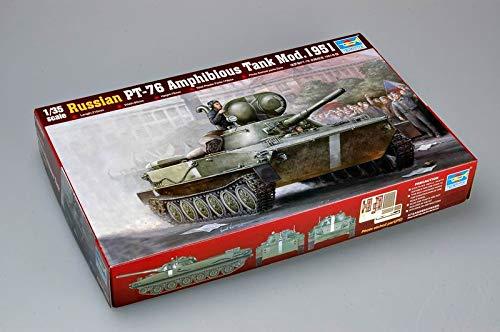 Trumpeter PT-76 Amphibious Tank Model 1951