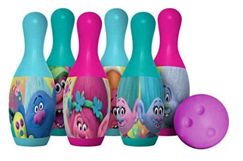 Hedstrom Dreamworks Trolls Plastic Bowling Set Game
