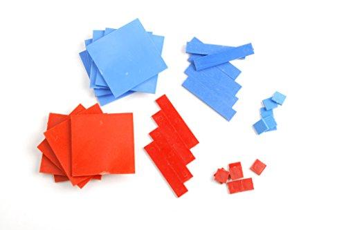 Algebra Tiles -One Variable Plastic Set