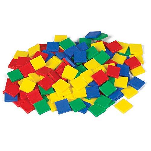 EAI Education Color Tiles Plastic - Set of 2000