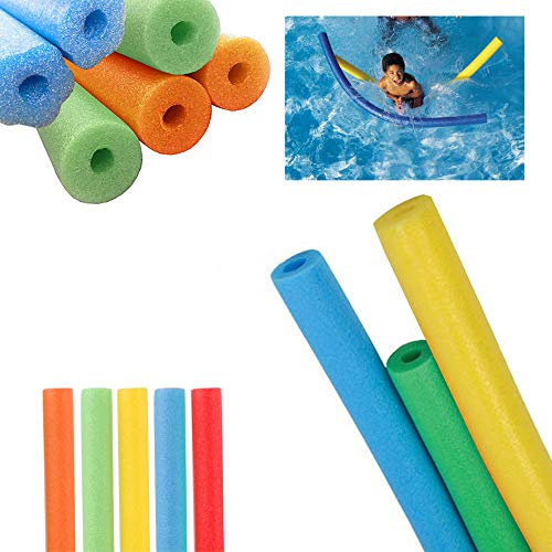 12 Swimming Foam Noodle Pool Float Floating Swim Water Floater Floatie Craft 48
