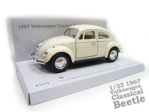 132 Â¡ 1967 classic Beetle Â¡ boxed Â¡ Ivory Â¡ minicar Â¡ Volkswagen Â¡ foreign car  toys  boy  Volkswagen  interior  die-cast metal and plastic  pullback