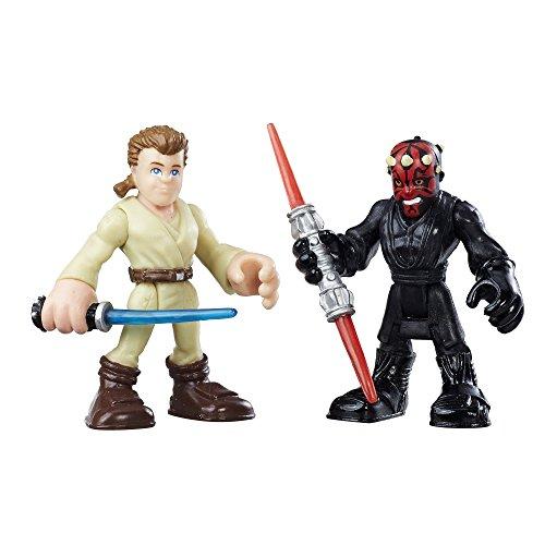 Playskool Heroes Galactic Heroes Obi-Wan Kenobi and Darth Maul