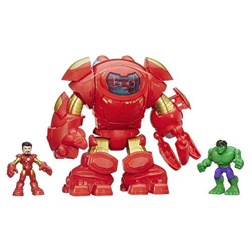 Playskool Heroes Marvel Super Hero Adventures Stark Tech Armor with Tony Stark Figure