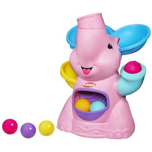 Playskool Pink Elephant Busy Ball Popper