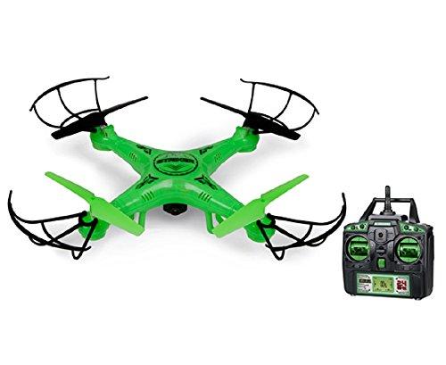World Tech Toys 24Ghz Striker Glow-in-The-Dark 45 Channel RC Spy Drone