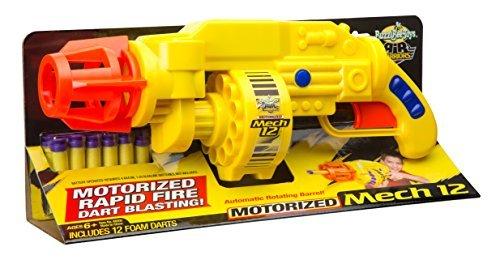 Buzz Bee Toys Air Warriors Motorized Mech 12 Blaster by Buzz Bee
