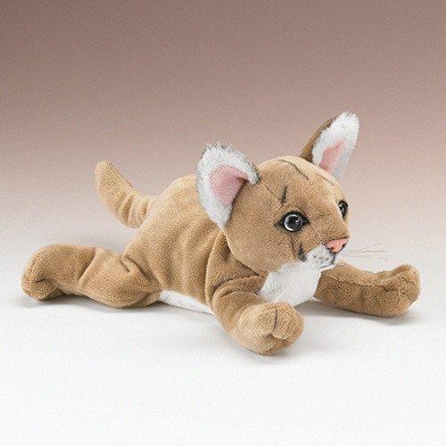 AW 14 Mountain Lion Cougar Plush Stuffed Animal Soft Toy