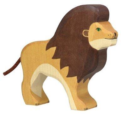 Holztiger Lion Toy Figure