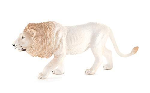 Mojo White Male Lion Toy Figure