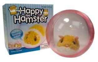 Hamusuta the Happy Hamster in Ball