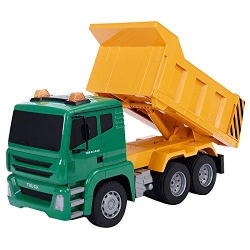 Safstar 118 5CH Remote Control Construction Dump Truck Kids Toy Gift