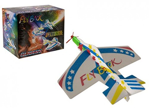 Flying Come Back Chuck Toy Glider