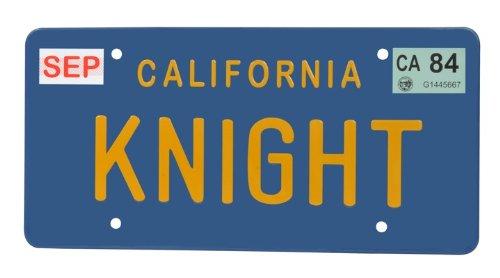 Diamond Select Toys Knight Rider Knight License Plate Replica