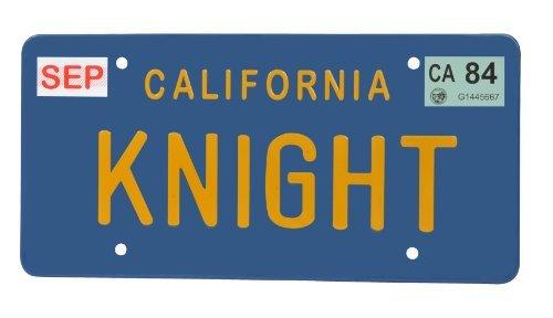 Diamond Select Toys Knight Rider Knight License Plate Replica by Diamond Select
