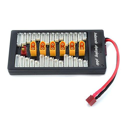 Jrelecs Xt60-plug Parallel Li-po Charging Adaptor Board 2-6s Charge Balance Plate for Imax B6  B6AC