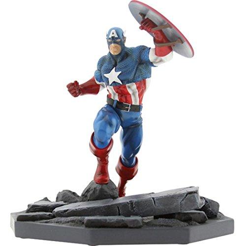 BAIT x Marvel Captain America Statue By MINDstyle Blue