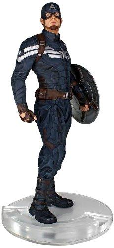 Captain America Statue - Captain America The Winter Soldier Stealth Version