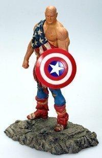 DF Earth X Captain America Statue
