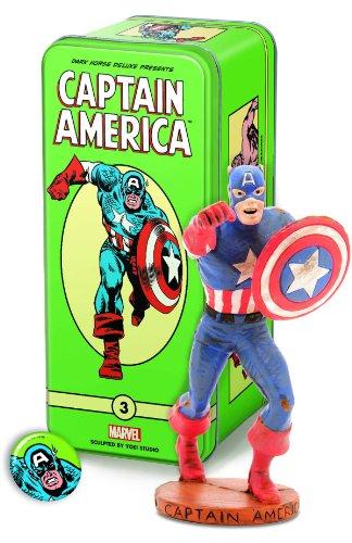 Dark Horse Deluxe Marvel Classic Character Series 2 3 Captain America Statue