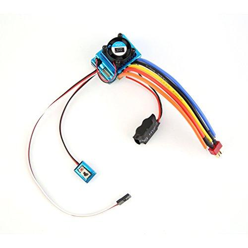 RCmall 120A ESC Sensored Brushless Speed Controller For 18 110 CarTruck Crawler