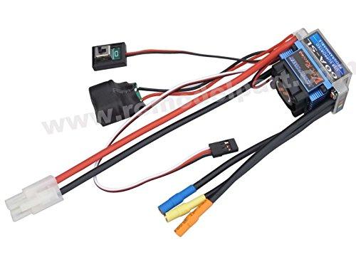 powerdayRacing 60A SL V2 Brushless Speed Controller ESC for RC 110 Car Truck Tamiya Plug