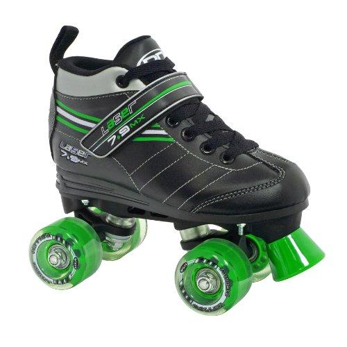 Roller Derby Boys Laser Speed Quad Skate Size 07