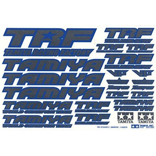 Tamiya TRF Series No137 TRF sticker C Blue edge  mirror 42237