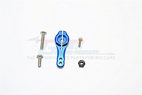 Axial SCX10 II Upgrade Parts AX90046 AX90047 Aluminum 25T Servo Horn - 1Pc Set Blue