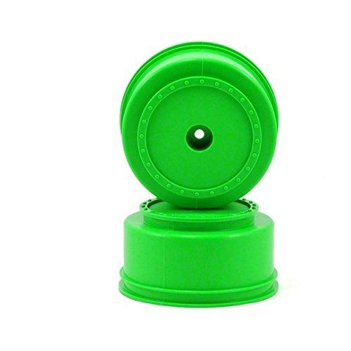DE Racing SCBAG 3mm Offset Borrego SC Wheels for Team Associated SC10 SC10 4x4 Green