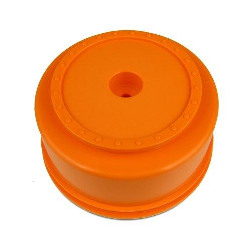 DE Racing SCBAO 3mm Offset Borrego SC Wheels for Team Associated SC10 SC10 4x4 Orange