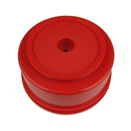 DE Racing SCBAR 3mm Offset Borrego SC Wheels for Team Associated SC10 SC10 4x4 Red