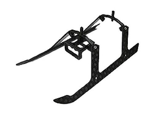 Microheli Carbon Fiber Landing Gear V2 set - BLADE MSR