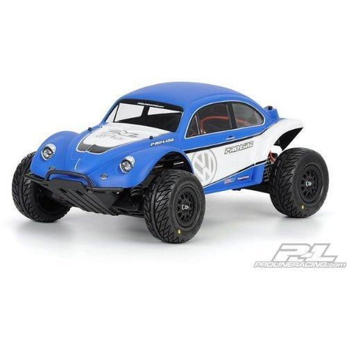 Proline 323863 Volkswagen Full Fender Baja Bug Body for Slash 2WD and 4WD
