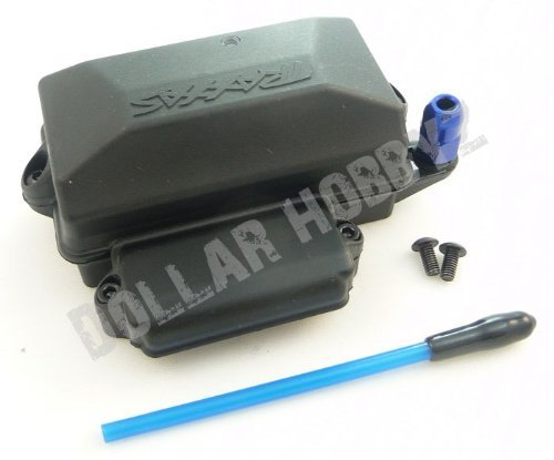 Traxxas 110 Slash 2WD VXL  WATERPROOF RECEIVER BOX ANTENNAE TUBE NUT  Cap