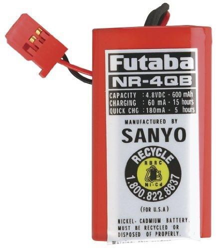 Futaba NR4QB RX NiCd Square 48V 600mAh J Receiver Battery